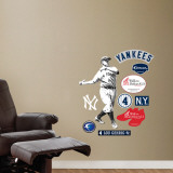 Lou Gehrig - Fathead Junior Wall Decal