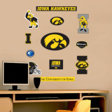 Iowa - Fathead Junior Logosheet   Wall Decal