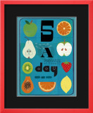 Five a Day Affiches par Jessie Ford