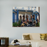 Kid Rock Hitsville USA Mural Wall Decal