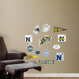 US Naval Academy - Fathead Junior Logosheet Wall Decal