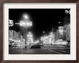 Neon Signs on Canal Street in New Orleans Framed Photographic Print