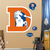 Denver Broncos Classic Logo Wall Decal