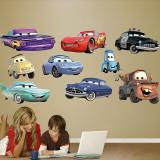 Cars Collection Kalkomania ścienna