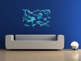 Delfiner Wallsticker