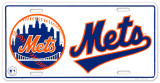 New York Mets Cartel de chapa