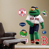 Wally The Green Monster Red Sox Mascot Wall Decal
