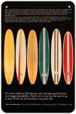 Bing Surfboards Plaque en métal