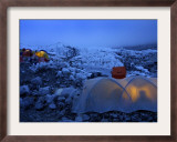 Everest Base Camp in Nepal Framed Photographic Print