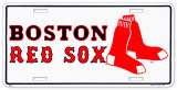 Boston Red Sox Plaque en métal