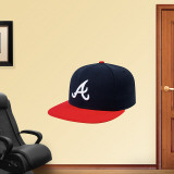 Atlanta Braves New Era Cap Wall Decal