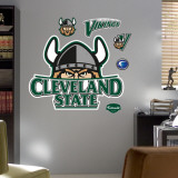 Cleveland State University Logo Wall Decal
