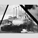 Rouge Plant: Cement Plant Powerhouse With Locomotive Wall Decal