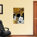 BLOC28- Tres Mickeys 1 Wall Decal