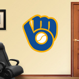 Brewers Throwback Logo Wall Decal
