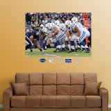Colts-Ravens Line of Scrimmage Mural Wall Decal