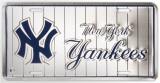 New Yorks Yankees Plaque en métal