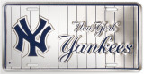 New Yorks Yankees Placa de lata