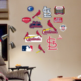 Cardinals - Fathead Junior Logosheet   Wall Decal