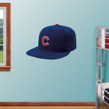 Chicago Cubs New Era Cap Wall Decal