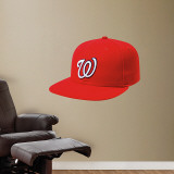 Washington Nationals New Era Cap Wall Decal