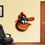 Orioles Throwback Logo Wall Decal