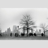Central Park South Silhouette, New York City Autocollant mural