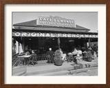 Cafe Du Monde Framed Photographic Print