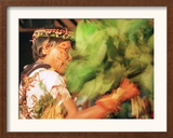 An Amazonian Indian Shaman Framed Photographic Print