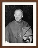 Karol Cardinal Wojtyla, Archbishop of Krakow, Poland Framed Photographic Print