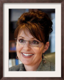 Sarah Palin, Anchorage, Alaska Framed Photographic Print