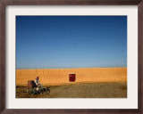 A Street Vendor Starts His Business Early Framed Photographic Print
