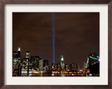 The Tribute in Light Framed Photographic Print