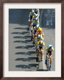 Fourth Stage of Tour de France, Montpellier, July 7, 2009 Framed Photographic Print