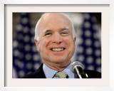 John McCain, Phoenix, AZ Framed Photographic Print