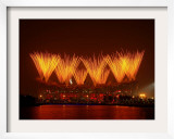 Beijing Olympics Closing Ceremony, Bird's Nest, Beijing, China Framed Photographic Print