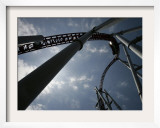 Storm Runner Rolleer Coaster at Hersheypark, Pennsylvania Framed Photographic Print by Carolyn Kaster