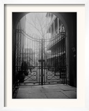 New Orleans' French Quarter is Famous for its Intricate Ironwork Gates and Balconies Framed Photographic Print