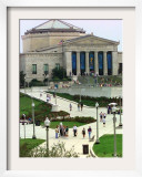 New Sidewalks and Landscaping Give Rise to the Shedd Aquarium Framed Photographic Print
