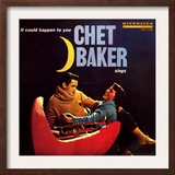 Chet Baker - It Could Happen to You Art by Paul Bacon