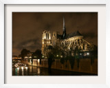Notre Dame, Paris, France Framed Photographic Print by Remy De La Mauviniere