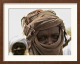 A Sudan Liberation Army, Sla, Fighter from the Faction of Abdelwahid Elnur Framed Photographic Print