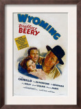 Wyoming, Ann Rutherford, Leo Carrillo, Wallace Beery, 1940 Prints