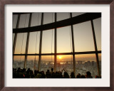 Crowds Gather to Watch the First Sunrise of the New Year, Tokyo Framed Photographic Print by David Guttenfelder