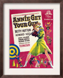 Annie Get Your Gun, Betty Hutton, 1950 Poster