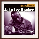 John Lee Hooker, Specialty Profiles Poster