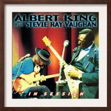 Albert King with Stevie Ray Vaughan - In Session Prints