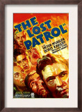 The Lost Patrol, Lower Right: Victor Mclaglen, 1934 Art