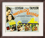Waterloo Bridge, Robert Taylor, Vivien Leigh, 1940 Print
