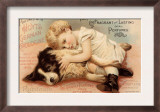 Hoytes Cologne, Dogs, Womens, USA, 1890 Prints